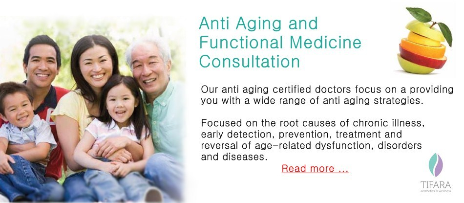 Anti Aging And Functional Medicine Consultation